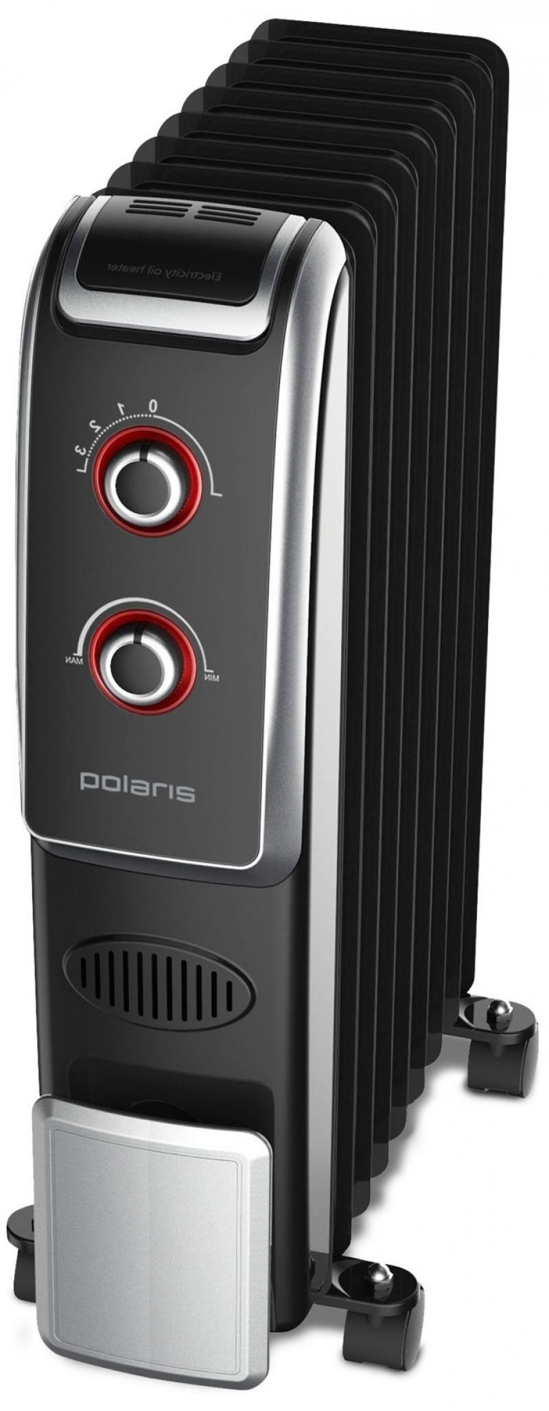 Масляный радиатор Polaris PRE B 0920 2000 Вт чёрный
