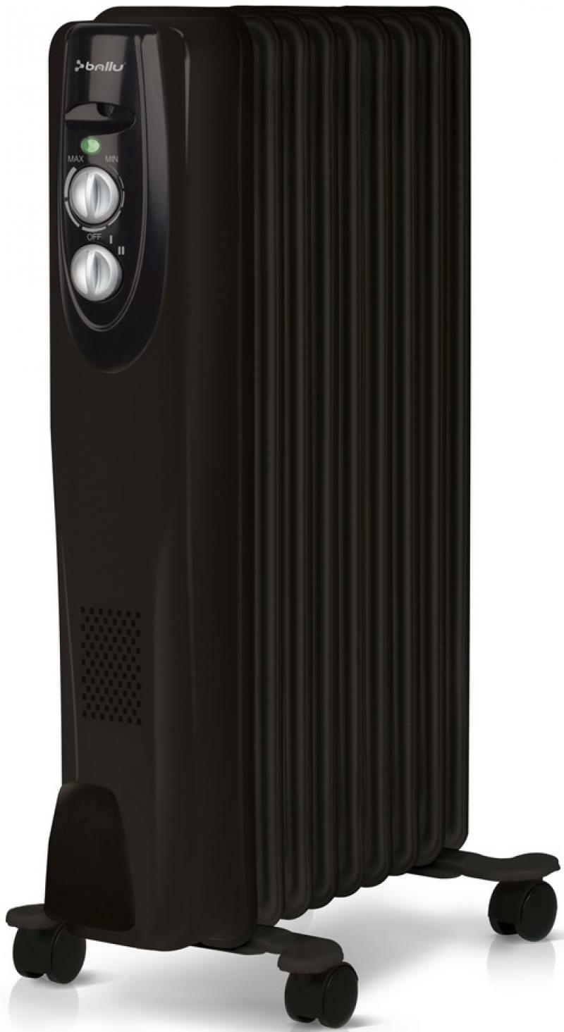 Масляный радиатор BALLU BOH/CL-09BRN 2000 Вт чёрный масляный обогреватель ballu classic boh cl 09brn 2000