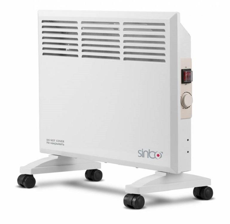 Конвектор Sinbo SFH 3365 1000 Вт белый утюг sinbo ssi 6602 фиолетовый белый