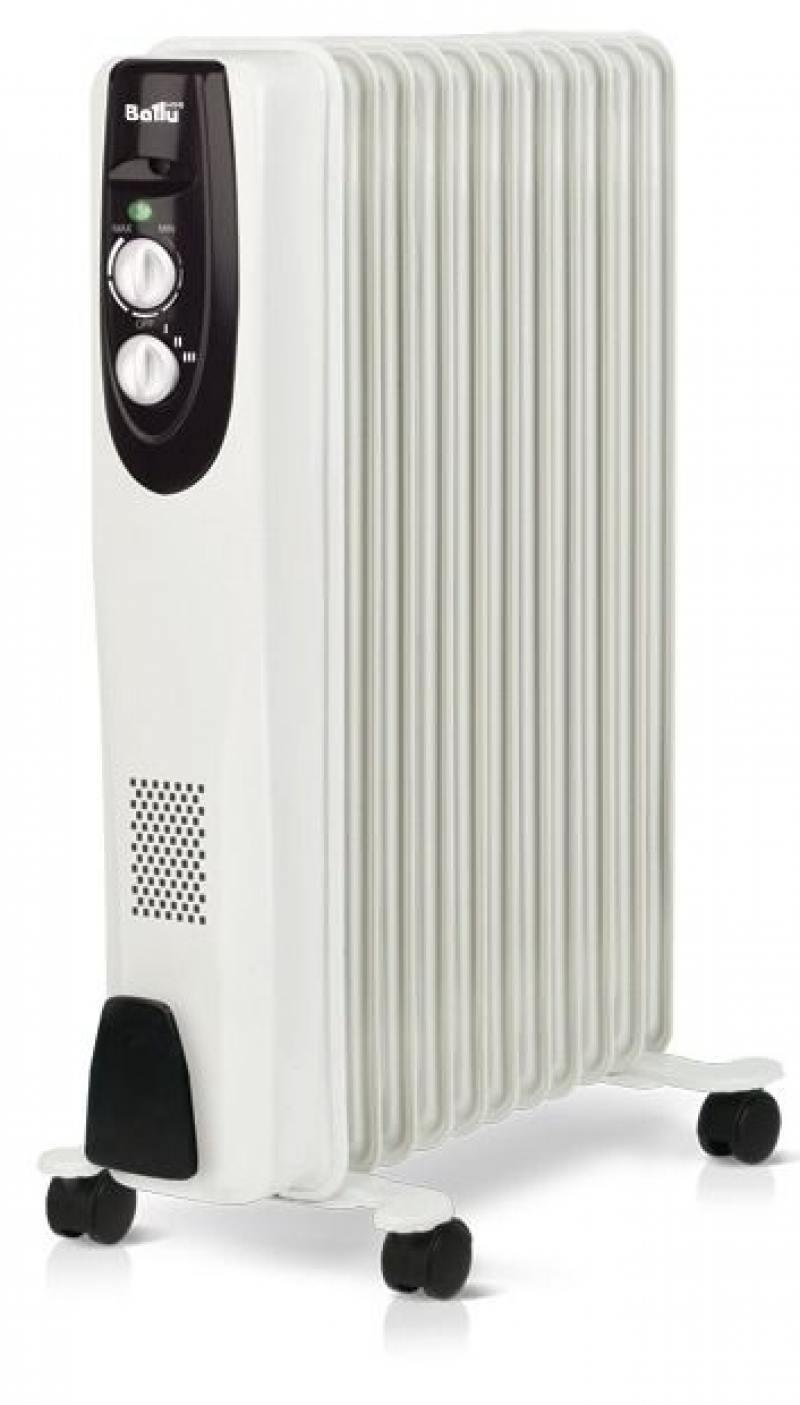 Масляный радиатор BALLU Classic BOH/CL-11WRN 2200 Вт белый масляный радиатор ballu boh cl 11wrn 2200