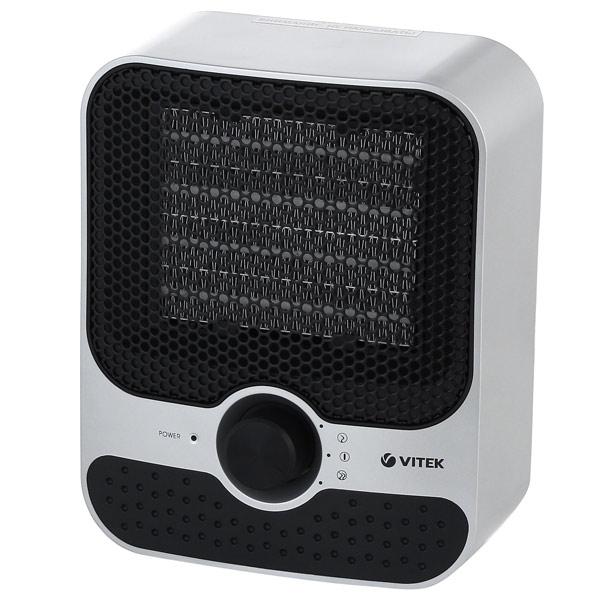 Тепловентилятор Vitek VT-1759(SR) 1500 Вт серебристый
