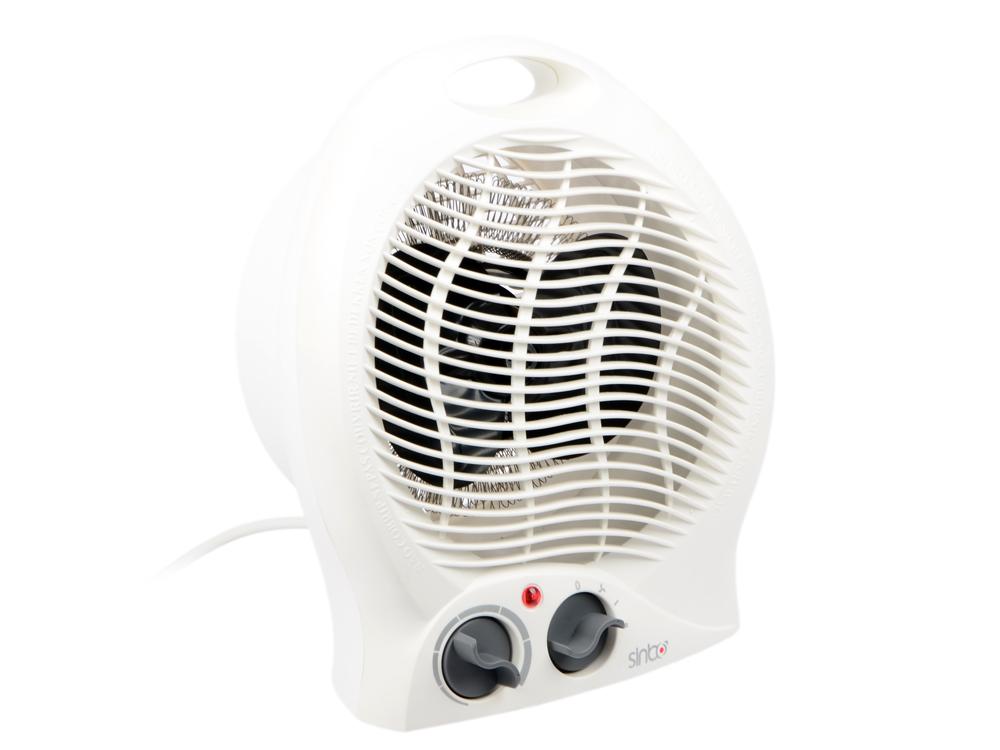 Тепловентилятор Sinbo SFH 3393 2000Вт белый утюг sinbo ssi 6602 фиолетовый белый