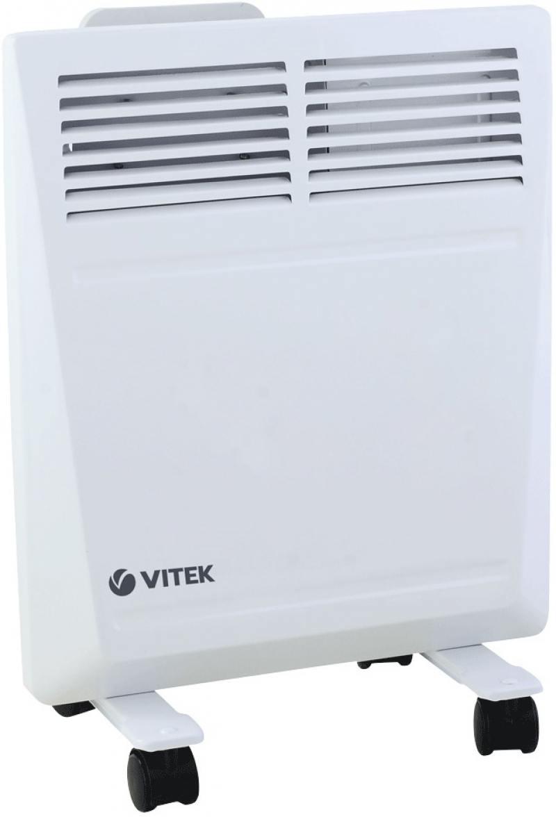 Конвектор Vitek VT-2171 W 1000 Вт белый кофемашина delonghi ecam 45 760 w белый