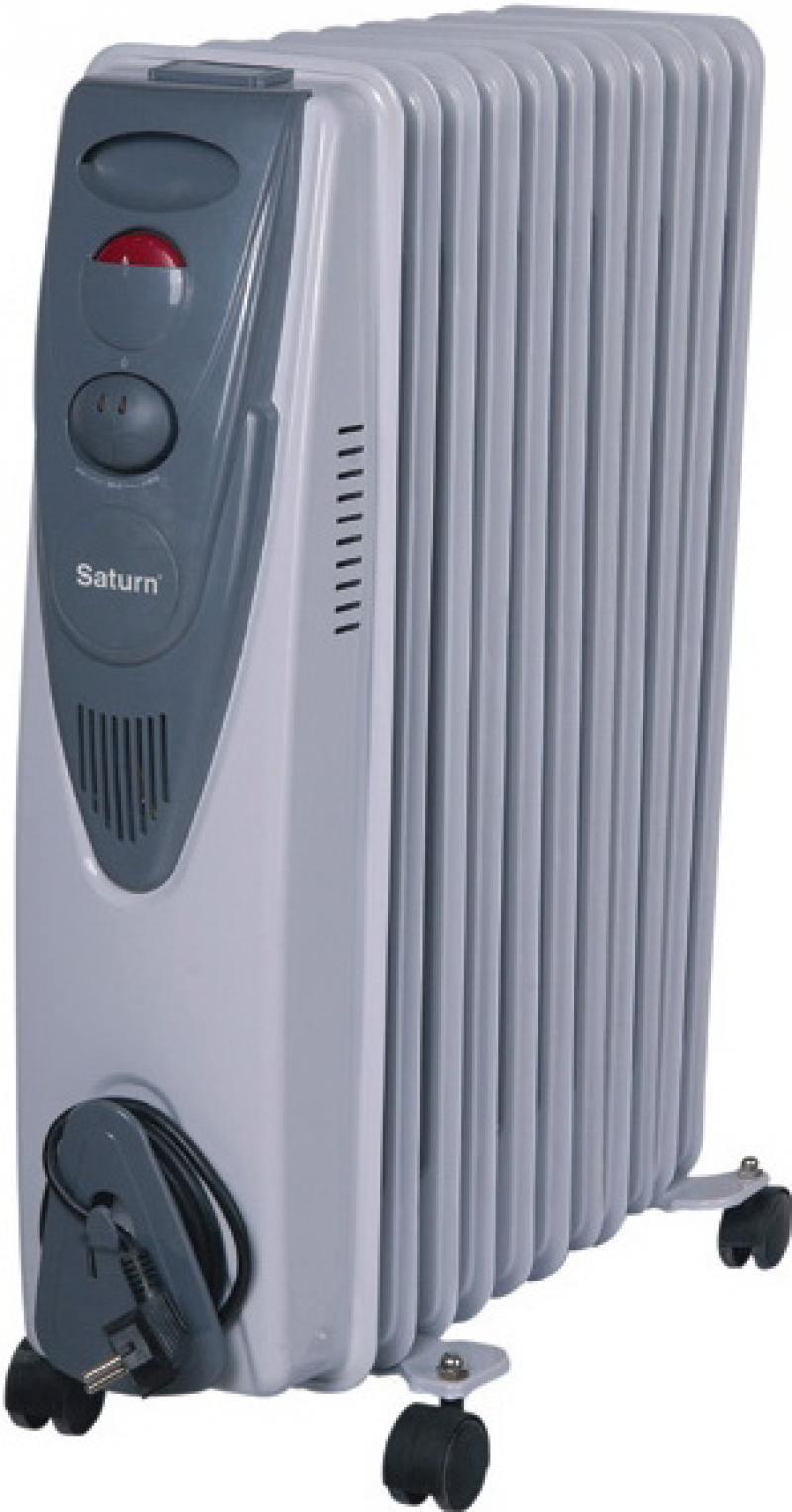 Масляный радиатор Saturn ST-OH0413 2500 Вт белый