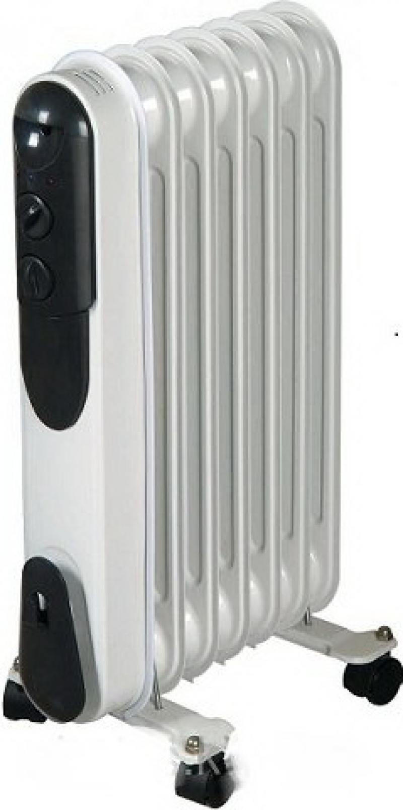 Масляный радиатор Saturn ST-OH0425 1500 Вт белый