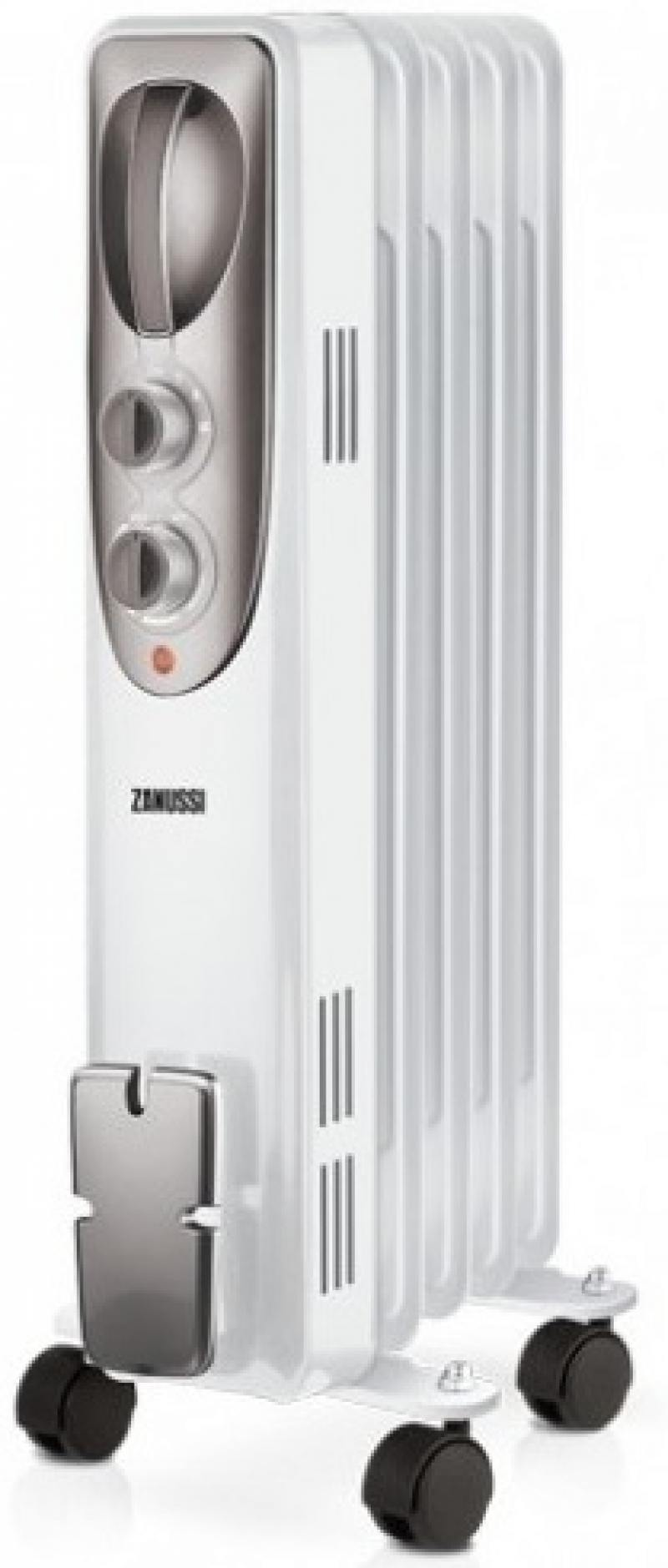 Масляный радиатор Zanussi Espressione ZOH/ES-05W 1000 Вт белый