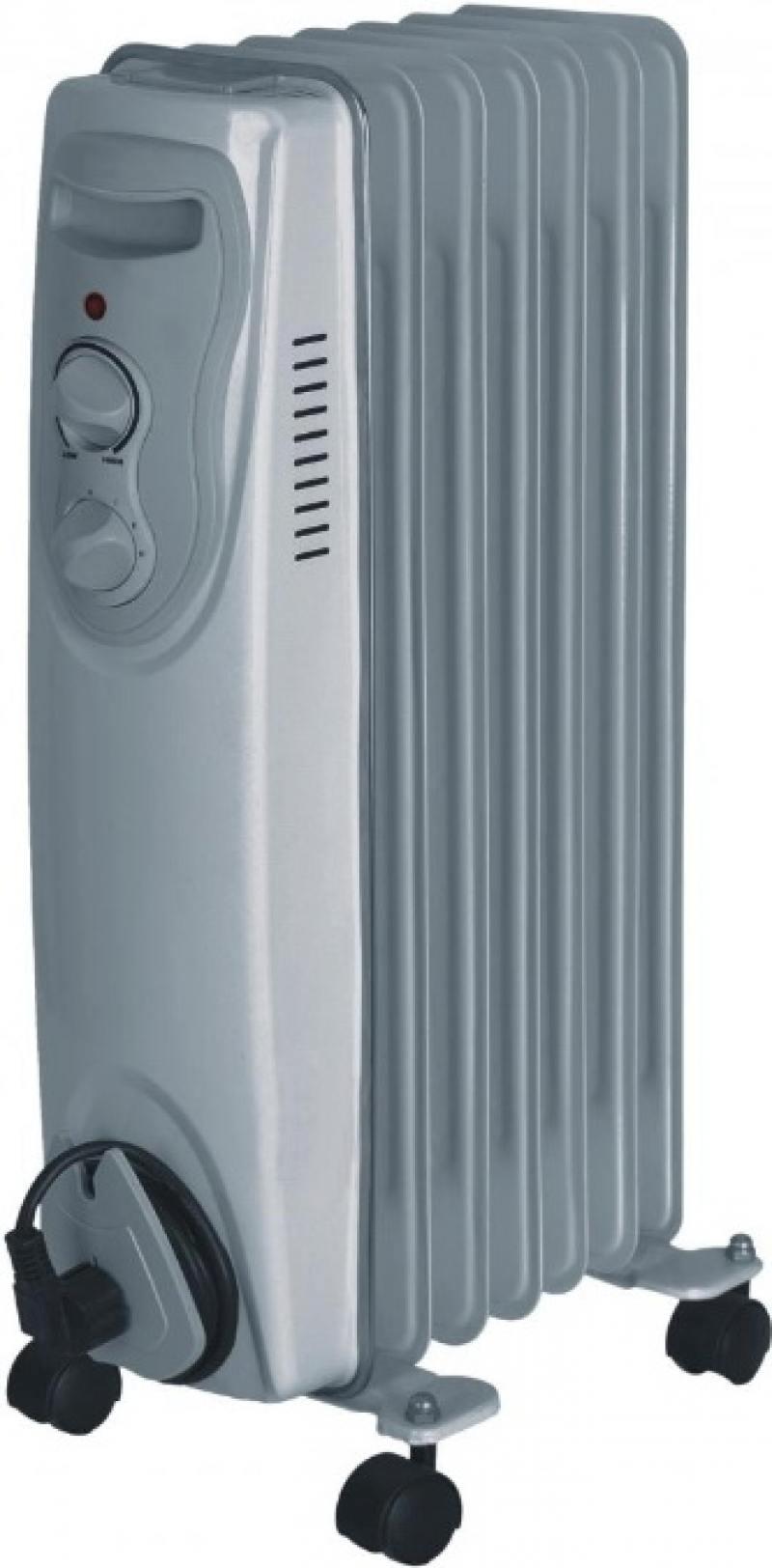 Масляный радиатор Saturn ST-OH 0431 1500 Вт белый