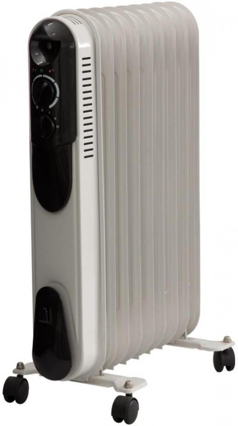 Масляный радиатор Saturn ST-OH 0426 2000 Вт белый чёрный ST-OH 0426