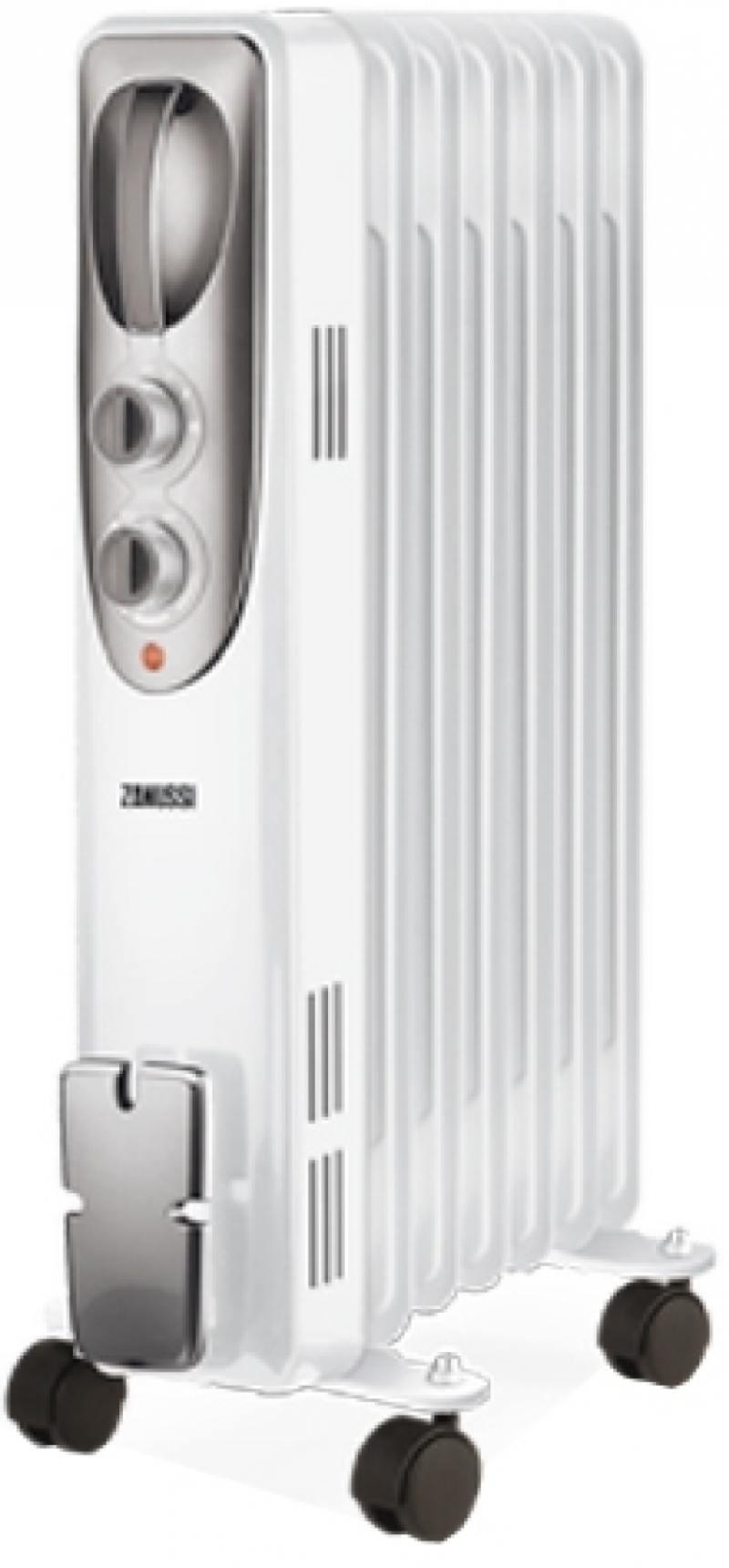 Масляный радиатор Zanussi Espressione ZOH/ES-07W 1500 Вт белый