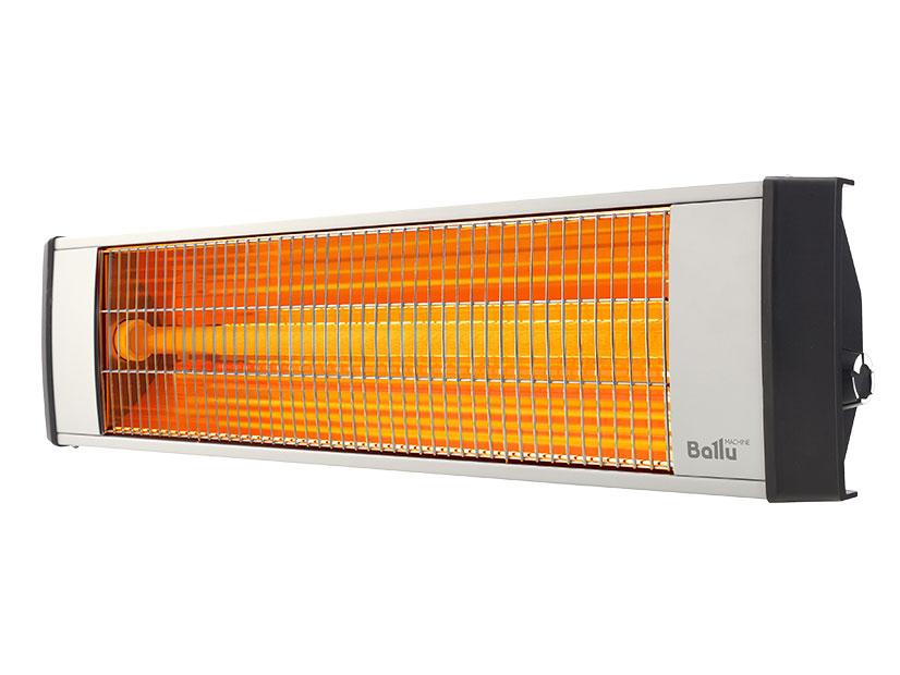 Инфракрасный обогреватель BALLU BIH-L-3.0 3000 Вт серебристый чёрный цена