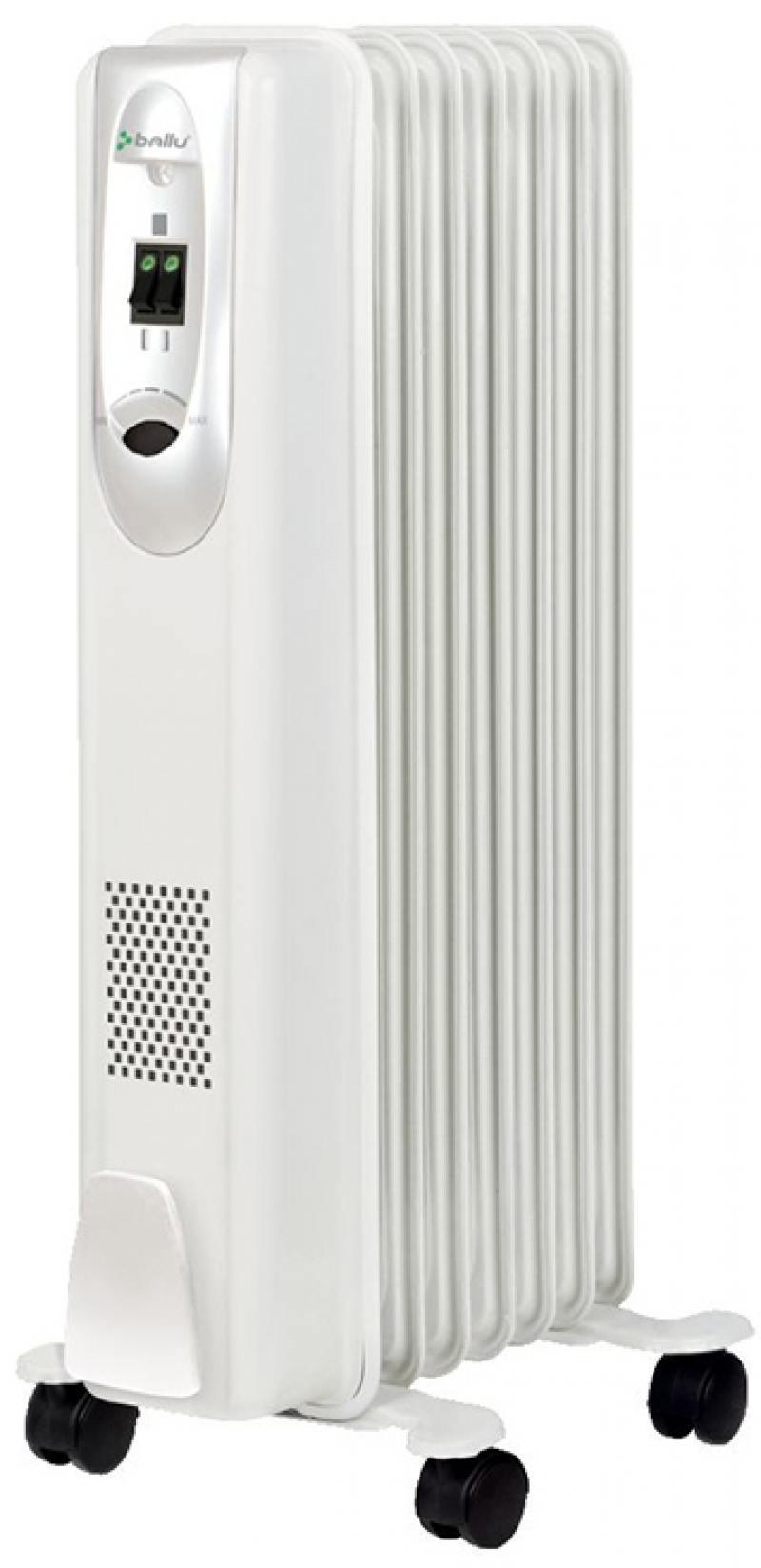 Масляный радиатор BALLU Comfort BOH/CM-07WDN 1500 Вт белый масляный радиатор ballu comfort 1000 вт белый boh cm 05wdn