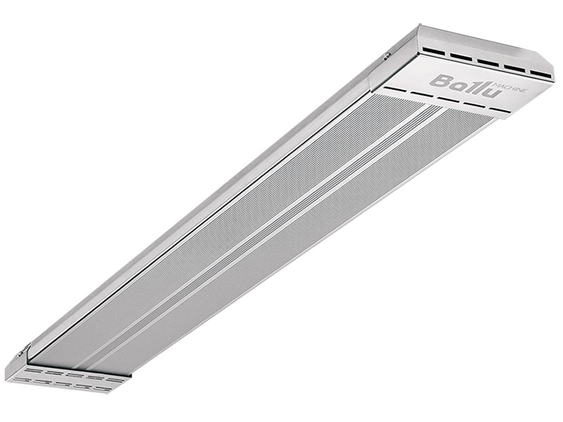 Инфракрасный обогреватель BALLU BIH-APL-0.8 800 Вт серый инфракрасный обогреватель ballu bogh 15e 13000 вт пульт ду серый