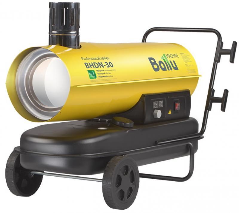 Тепловая пушка BALLU BHDN-30 30000 Вт желтый тепловая пушка газовая ресанта тгп 30000 33квт красный