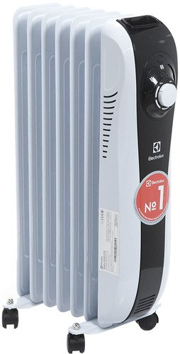 Масляный радиатор Electrolux Sport line EOH/M-5157N 1500 Вт серебристый масляный радиатор electrolux eoh m 5157