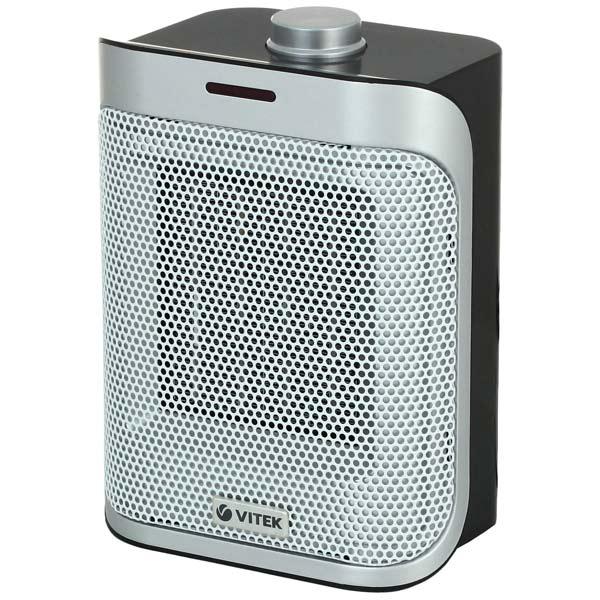 Тепловентилятор Vitek VT-2051(BK) 1500 Вт серый биокамин silver smith mini 3 premium 1500 вт серый