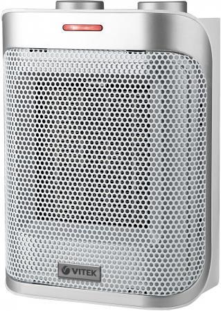 Тепловентилятор Vitek VT-2050 GY 1500 Вт серебристый серый