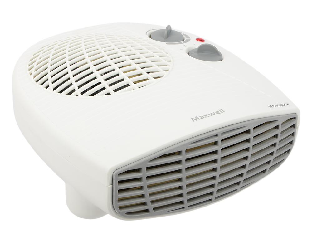 Тепловентилятор Maxwell MW-3456(W) 2000 Вт белый