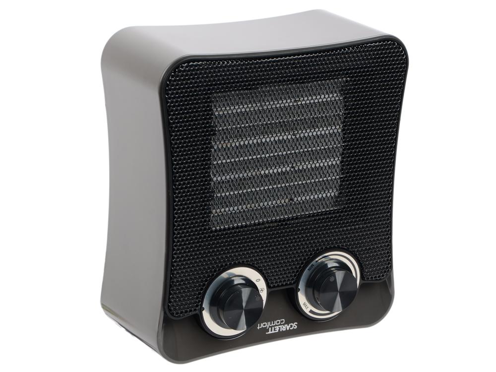 Тепловентилятор Scarlett SC-FH53K02 2000Вт напольный серый отпариватель напольный scarlett sc gs130s06
