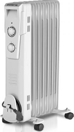 Масляный радиатор Polaris PRE G 0615 1500 Вт белый обогреватель polaris pre g 0615 белый