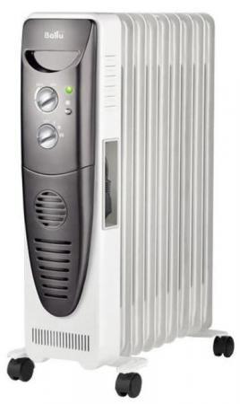 Масляный радиатор BALLU Turbo BOH/TB- 09FH 2000 Вт белый prorab fh 2000