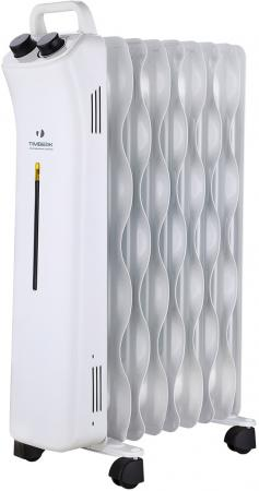 Масляный радиатор Timberk TOR 51.1507 BTM 1500 Вт белый btm