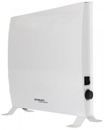 Конвектор Scarlett SCA H VER14 1000 1000Вт белый электрический конвектор ver14 1500вт scarlett comfort sca h ver14 1500