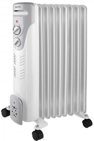 Масляный радиатор Vitek VT-1709(W) 2300 Вт белый