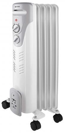 Масляный радиатор Vitek VT-1707(W) 1500 Вт белый