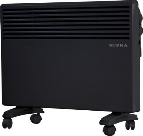 Конвектор Supra ECS-415 1500 Вт чёрный конвектор supra ecs 410 1000вт белый
