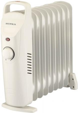 Масляный радиатор Supra ORS-09-SP 900 Вт белый supra ors 11 sn black