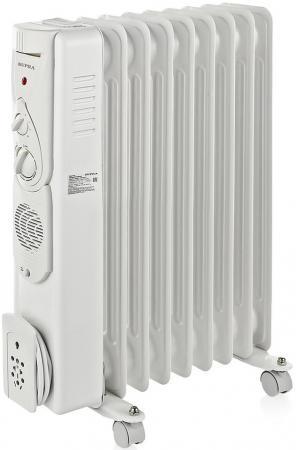 Масляный радиатор Supra ORS-09-F1 2400 Вт белый