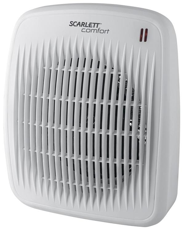 Тепловентилятор Scarlett SC - FH53016 (белый) масляный радиатор scarlett sc oh67b03 9 black