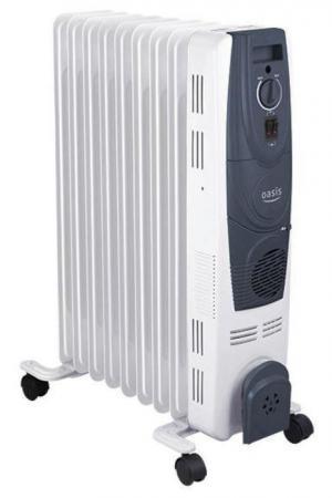 Масляный радиатор Oasis OB-15T 1500 Вт белый