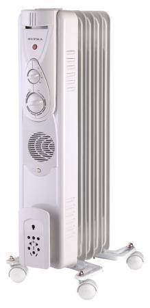 Масляный радиатор Supra ORS-05-F1 1000 Вт белый