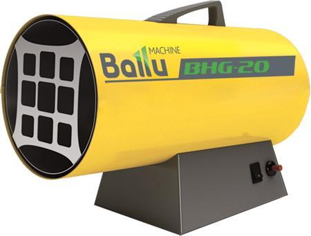 Нагреватель газовый BALLU BHG-20 (20М) 17кВт 400м3/ч расход газа 1.7кг/ч