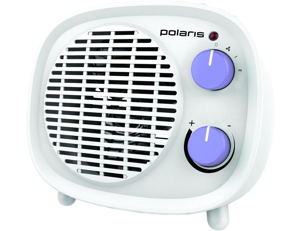 Тепловентилятор Polaris PFH 2062 1800Вт белый/фиолетовый женские толстовки и кофты unbranded 2015 1034 1034