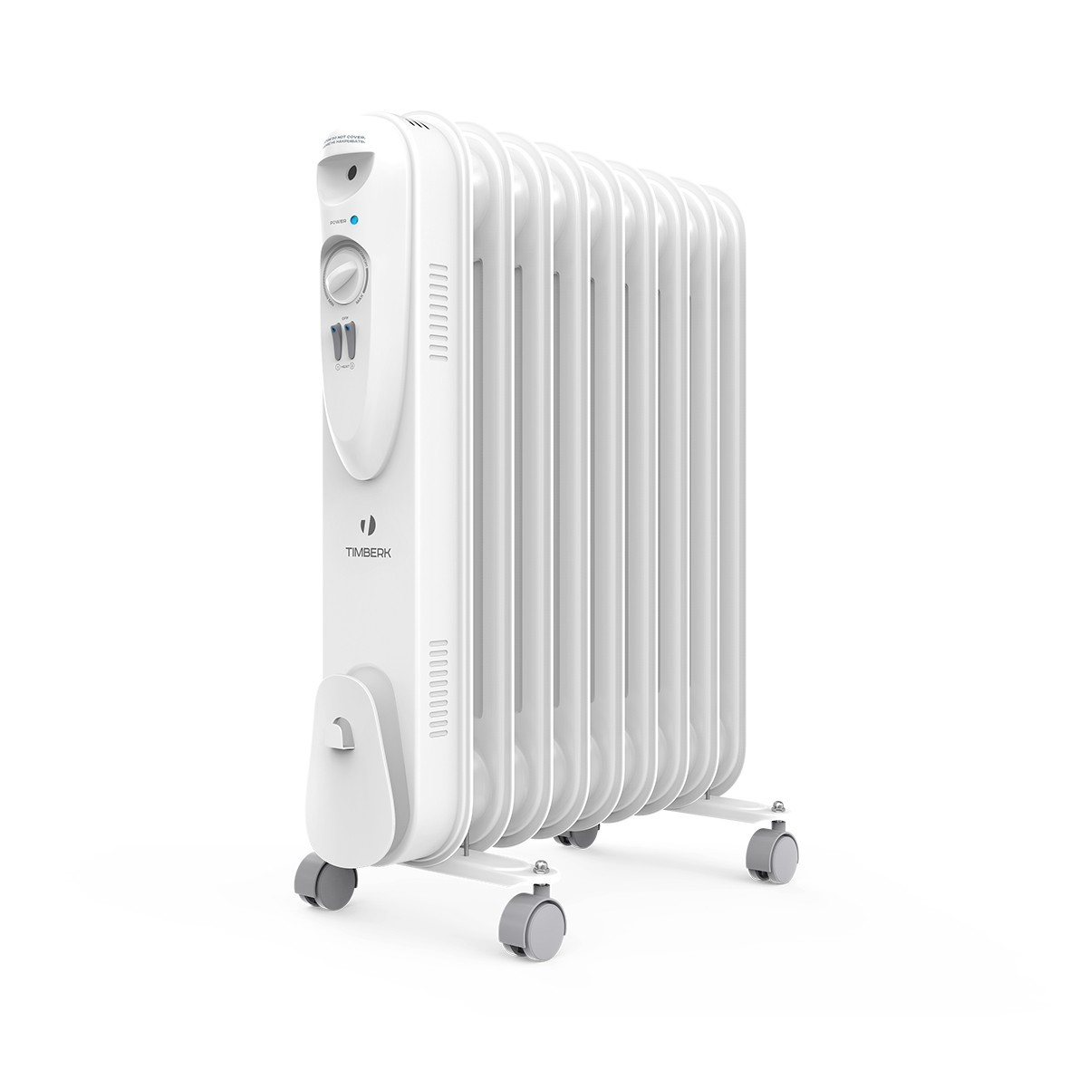 Масляный радиатор Timberk US TOR 21.1809 SLX, ULTRA SLIM дизайн, 9 секций, 1800 Вт., защита от протечек масла, высокоточный термостат