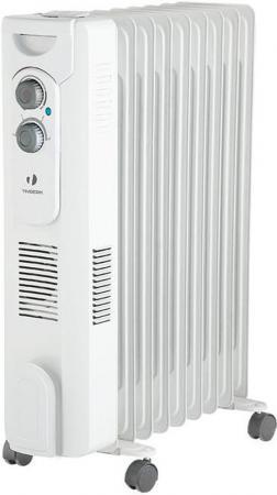 Масляный радиатор Timberk TOR 31.1606 QT, 6 секций, 1600 Вт., с вентилятором, защита от протечек масла, высокоточный термостат
