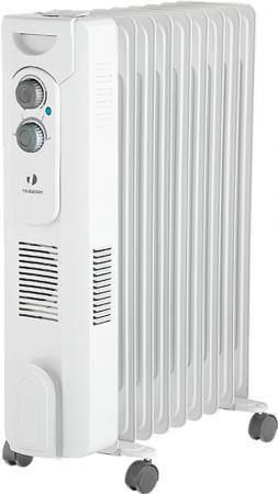 Масляный радиатор Timberk TOR 31.2409 QT, 9 секций, 2400 Вт., с вентилятором, защита от протечек масла, высокоточный термостат