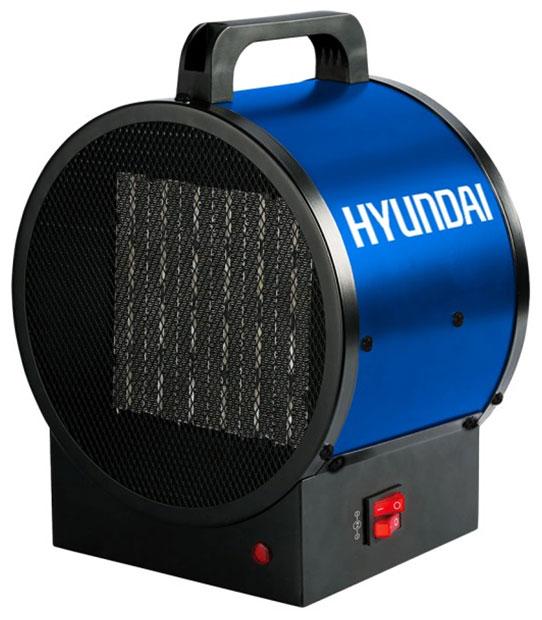 Электрическая тепловая пушка Hyundai H-HG8-20-UI909, 2 кВт., синий чёрный тепловая пушка 5 квт termatik