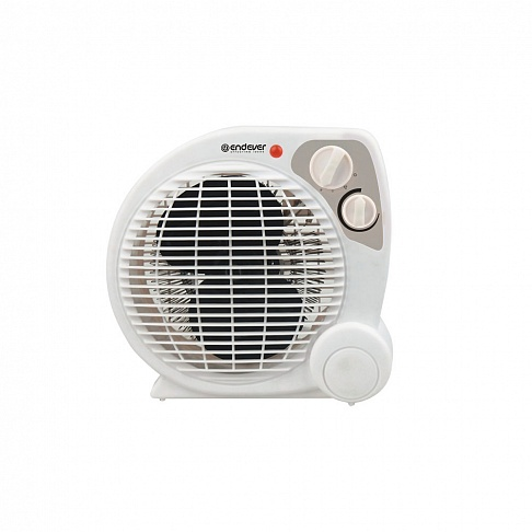 Тепловентилятор Endever Flame-10, 2 кВт., S-20 м?, 3 режима (холодный, теплый, горячий) тепловентилятор энергомаш тп 3000 1 5 3 0 квт