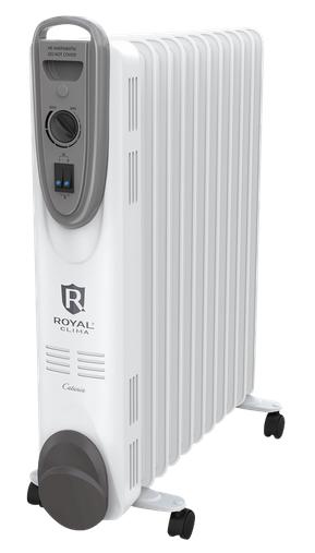 цена на Масляный радиатор Royal Clima 2000 Вт, 9 секций, 20м2, защита от перегрева