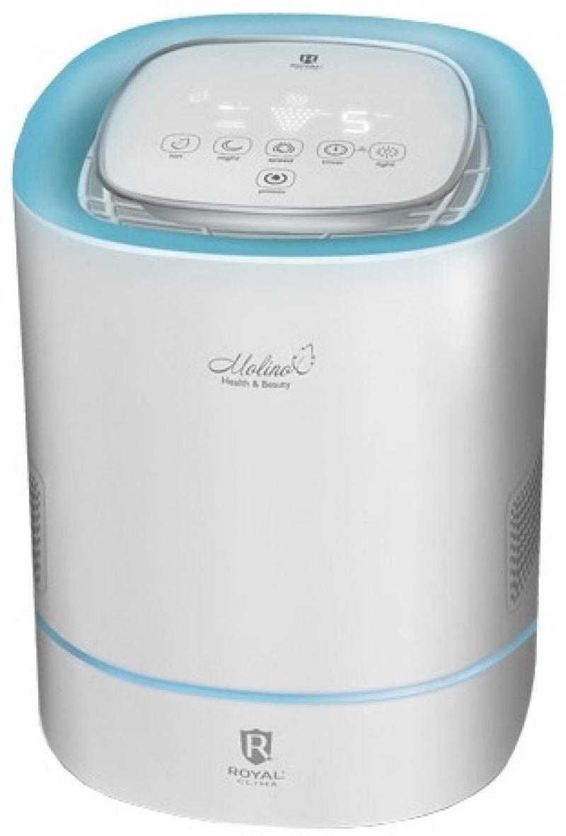 Очиститель воздуха Royal Clima Clima RAW-M200/2.2-BU белый голубой