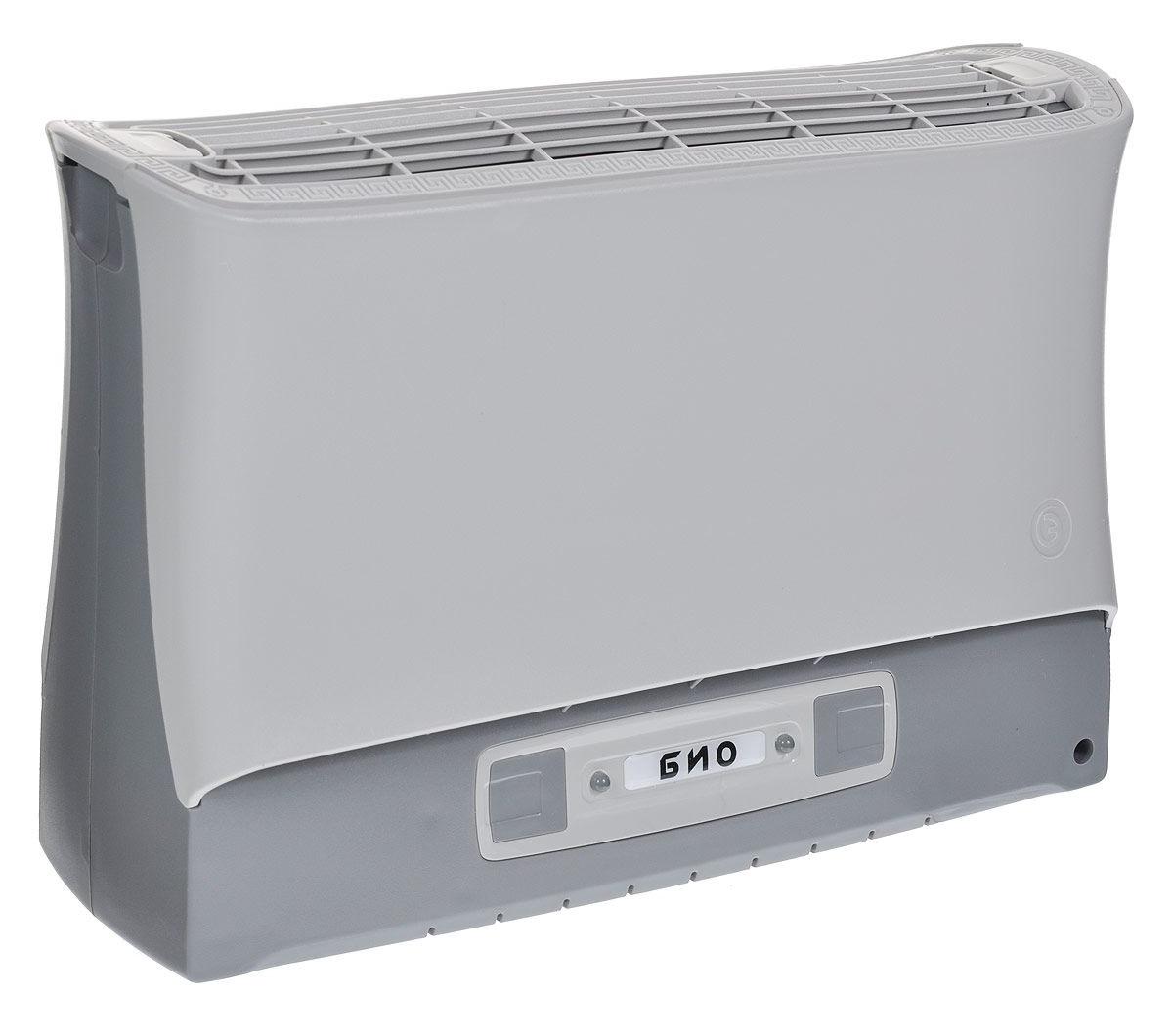 Очиститель-ионизатор воздуха Супер-плюс-Био серый очиститель ионизатор воздуха супер плюс турбо черный