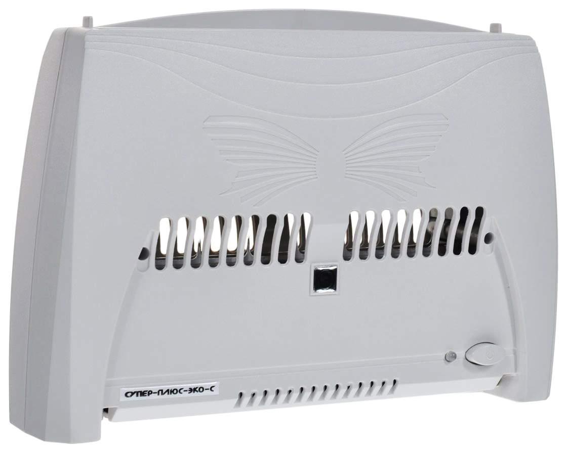 Очиститель-ионизатор воздуха Супер-плюс-Эко-С серый очиститель воздуха maxwell 3602mw рr