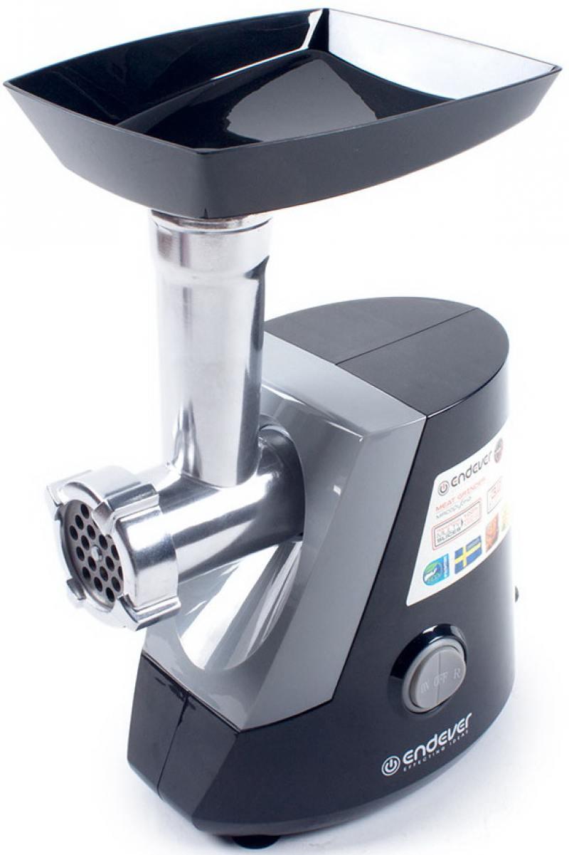 Электромясорубка ENDEVER Sigma 39 800 Вт белый-черный