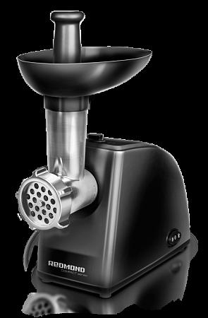 Электромясорубка Redmond RMG-1229 800 Вт чёрный электромясорубка аксион м 21 04 230 вт белый