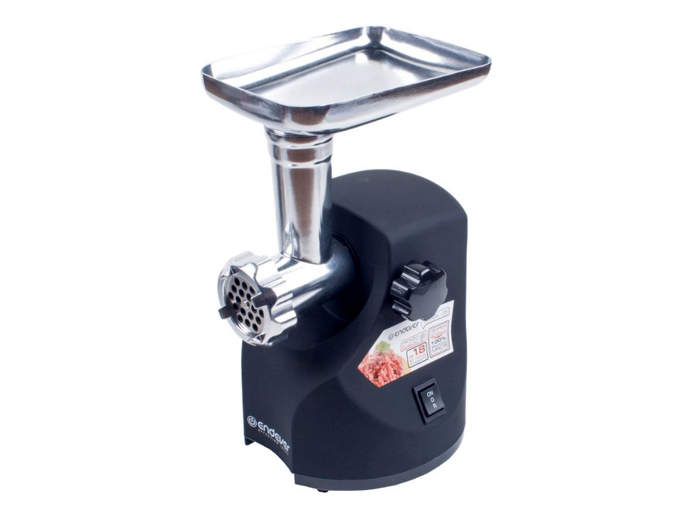 Мясорубка электрическая Endever Sigma 35, черный, мощность 1900 Вт, производительность 2,2 кг/мин, функция реверс