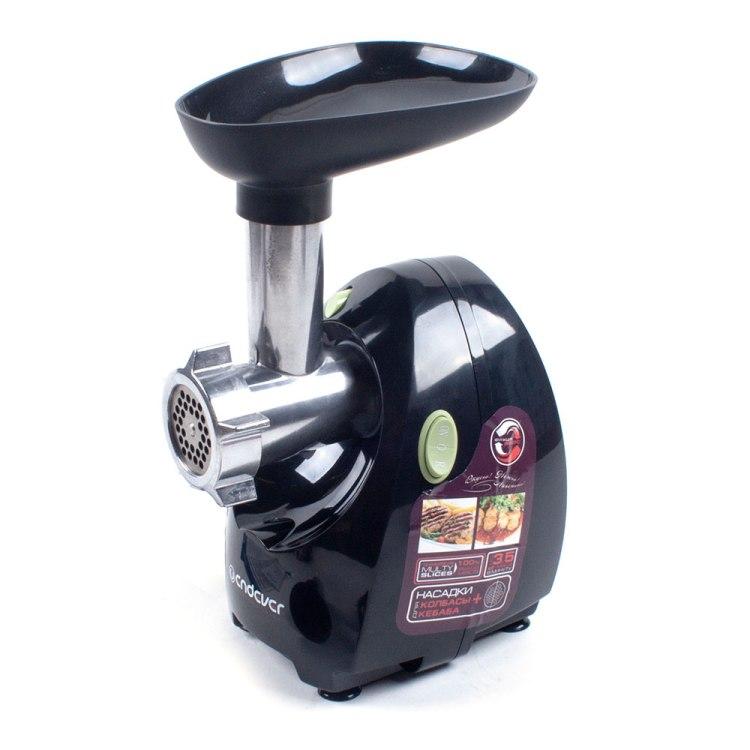 Мясорубка электрическая Endever Sigma 40 2 000 Вт, производительность до 3, 5 кг в мин, Функция Реверс, Диаметр отверстия 65 мм