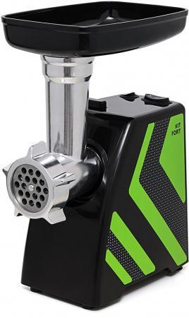 все цены на Мясорубка Kitfort KT-2101-2 1500Вт зеленый/черный онлайн